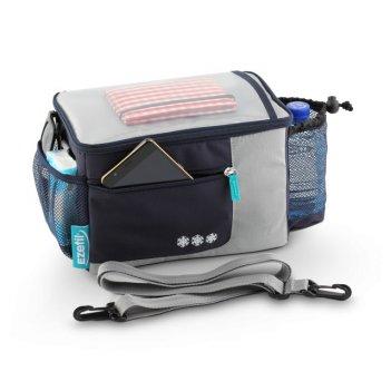 Индивидуальная сумка-холодильник крепление к велосипеду ezetil kc travel i