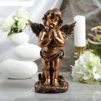 Статуэтка ангел в молитве бронза
