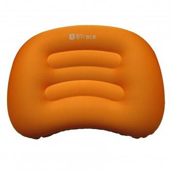 Подушка дорожная air 51x36х8 см, оранжевый