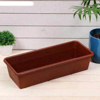 Ящик для рассады, 48 x 20 x 10 см, 8 л, микс