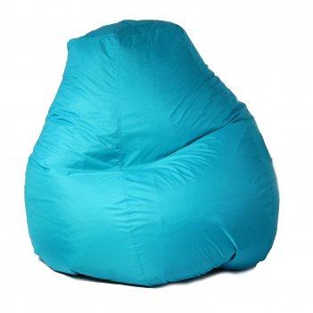 Кресло-мешок пятигранное, d82/h110, цвет бирюза
