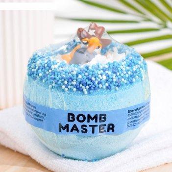 Бомбочка для ванн bomb master глазастики синие, 290 гр