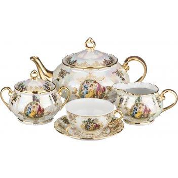 Чайный сервиз на 6 персон 15 пр.мадонна 1500/200...