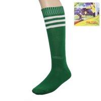 Гетры футбольные зеленые, безразмерные