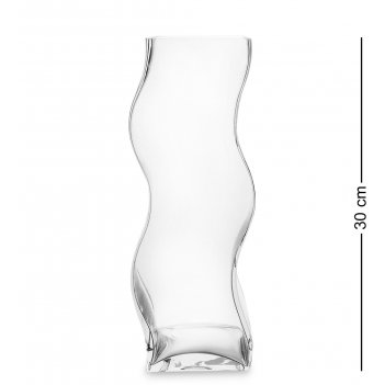 Nm-23760 ваза для цветов стеклянная 30 см (неман)