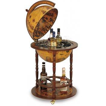 87 глобус-бар zoffoli с подставкой д/бутылок, диам.40см, 50х86h