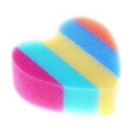 Губка банная радуга. свежесть, цвет микс