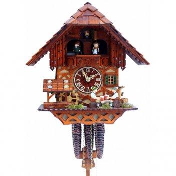 Настенные механические часы с кукушкой rombach & haas 2410