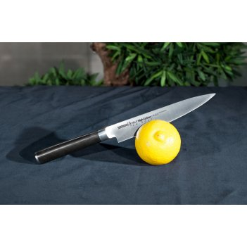 Нож кухонный универсальный samura mo-v sm-0023/g-10