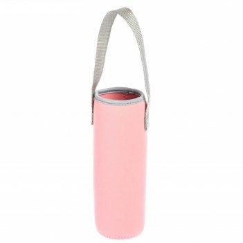 Термосумка для бутылочки до 300 мл, цвет розовый