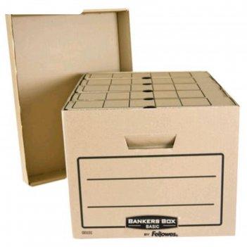 Короб архивный bankers box basic 335x445x270, гофрокартон