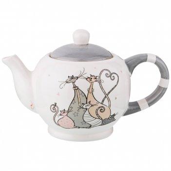 Чайник заварочный коллекция счастливое семейство 1000 мл 20,4*13,8*14,3 см