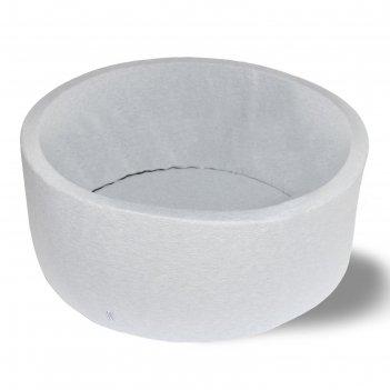 Сухой бассейн «серый», н=40 см, d=1 м