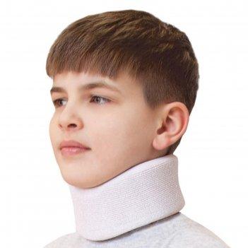 Бандаж для шейного отдела - крейт (№1, белый) f-310
