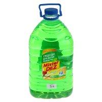 Средство  для мытья пола mister dez яблочный микс, 5 л
