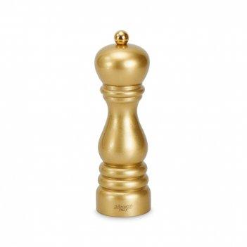 Мельница для перца деревянная 19 см, цвет золотой, серия roma by night, 61