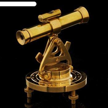 Компас-труба латунь 11х7х10 см