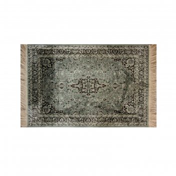 Прямоугольный ковёр atex 9216, 0.7 х 1.1 м, цвет green