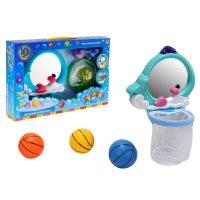 Игрушка для ванной водный баскетбол китенок