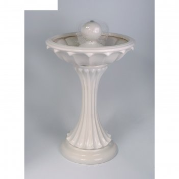 Фонтан напольный сфера (можем добавить туман и разноц.подсветку) 62*62*94