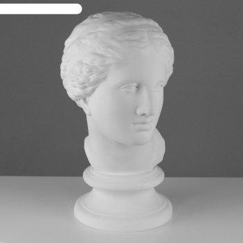 Гипсовая фигура голова афродиты книдос 25*25*55 см 10-110