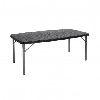 Стол складной gogarden biarritz, 152х83,5х73 см, пластик/сталь