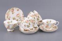 Чайный набор на 6 персон коллекция emma 12пр.250...