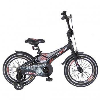 Rj16 2-х колесный велосипед 16″ rush jaguar черный