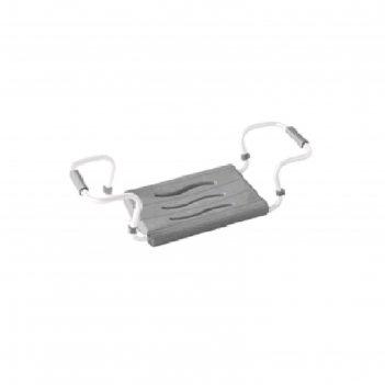 Сиденье для ванной, 36 х 26 см, стальной каркас 42,5-65 см, нагрузка 120 к