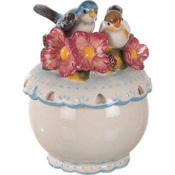 Банка для сыпучих продуктов птички длина=16 см.в...