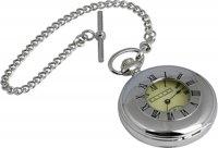 часы охотника карманные на цепочке, с окошком