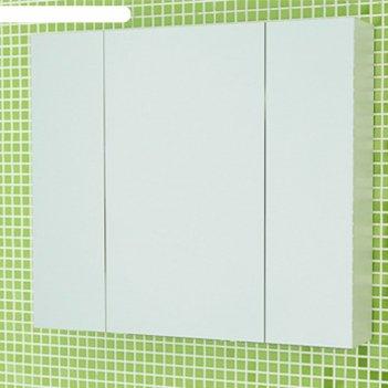Зеркало-шкаф для ванной римини-80 70 х 80 х 15 см, белый