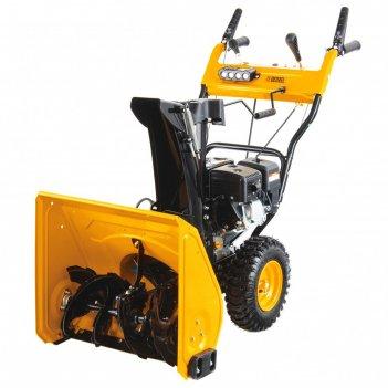 Бензиновая снегоуборочная машина denzel 97602, 6.5 л.с, захват 53х51 см, 4