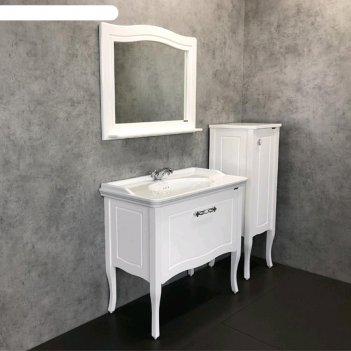 Полуколонна comforty «павия-40», белый глянец