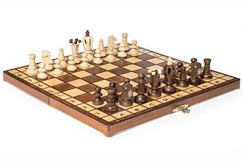Шахматы королевские складные 36х36см польша