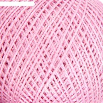 Нитки вязальные ирис 150м/25гр 100% мерсеризованный хлопок цвет 1702