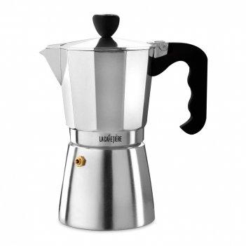 Кофеварка гейзерная на 9 чашек, объем: 550 мл, материал: алюминий, цвет: с