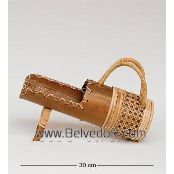 В6-0022 подставка под бутылку бамбук