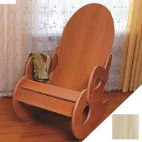 Кресло-качалка 90х60х105 см, цвет ясень шима светлый