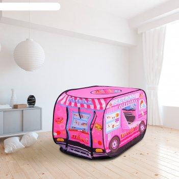 Палатка детская игровая «лавка с мороженным» 70x100x70 см