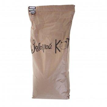 Наполнитель кукурузный золотой кот для грызунов, 10 кг