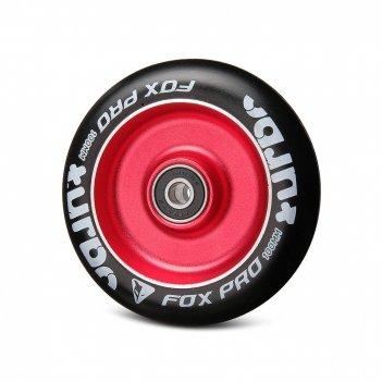 Колесо fox flat solid 100мм красный/черный