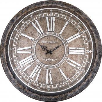 Часы настенные кварцевые 70*70*8,5 см. диаметр циферблата=56 см. (кор=1 шт
