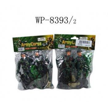 Набор солдатиков, 10 предметов, 2 вида в ассортименте, 11x2,5x12см