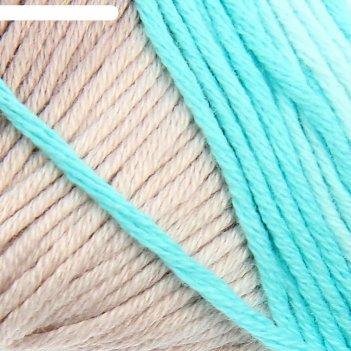 Пряжа bella batik, хлопок 100 %, 180 м / 50 г, цвет 3675