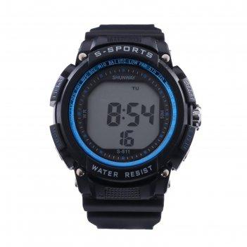 Часы наручные электронные shunway s-811, d=5 см, микс