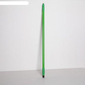 Черенок металлический телескопический, винт 83 (150) см, цвета микс