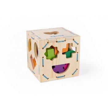 Сортер геометрические фигуры, 14 дет