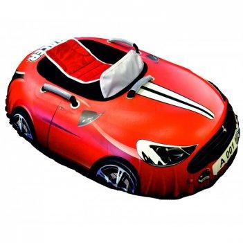 Ватрушка надувная snow car (вытянутая) красная феррари a001mp