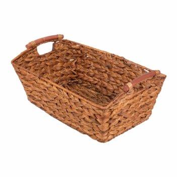 Короб плетеный с деревянными ручками №1